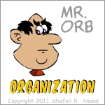 Mr. Orb of the Training and Learning Cartoon Series - The Mingoos.