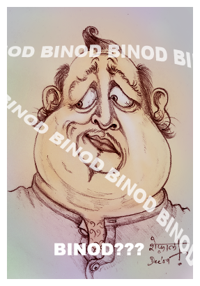 Why do Binods trend? The science of virality. A cartoon image of a confused man.