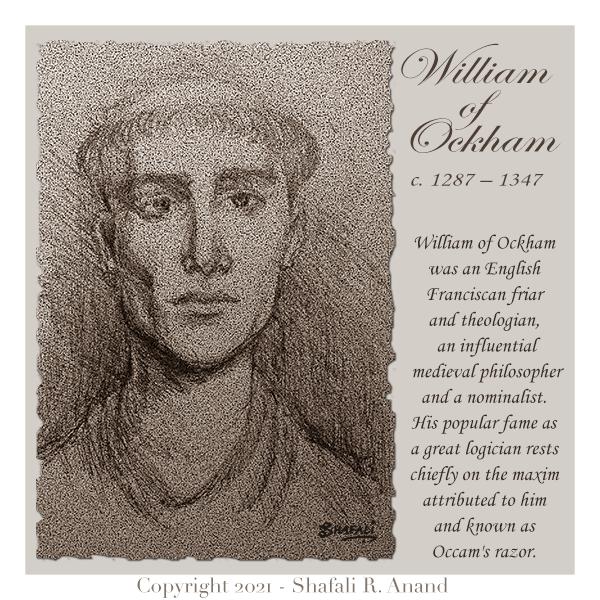 William of Ocham, Ockham, Occam's Razor
