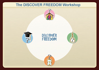 Click here to read about the DISCOVER FREEDOM workshop and Register for it.